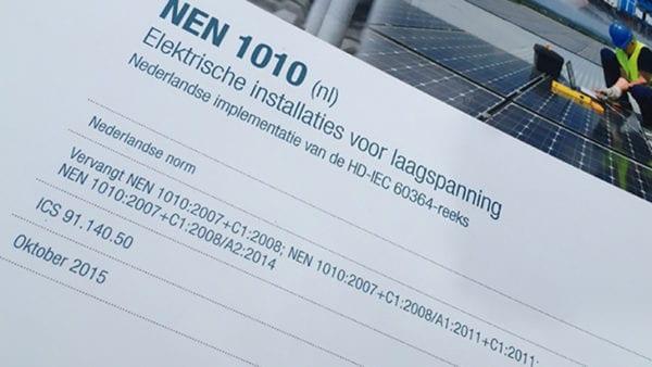 NEN 1010 Inspectie